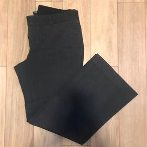 Gap stretch fit and flare dress pants